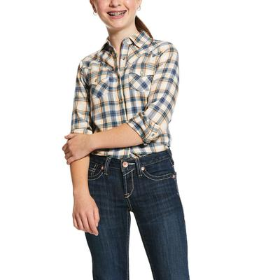 Ariat Girl's Natural Snap Shirt