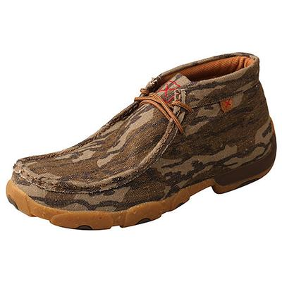 Twisted X Men's Mossy Oak Driving Moccasins