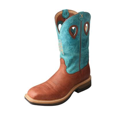 Twisted X Men's Turquoise Work Boots