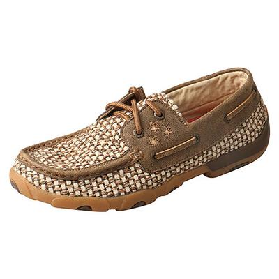 Twisted X Women's Ivory Boat Shoe
