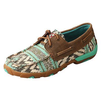 Twisted X Women's Multicolor Boat Shoe