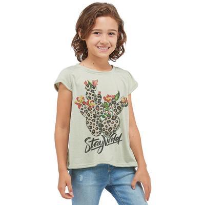 Phil Love Girl's Cactus T-shirt