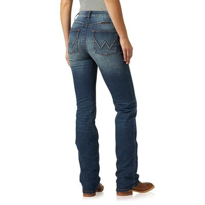 Wrangler Womens Mid Rise Willow Boot Cut Jean