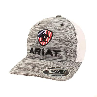 Ariat Mens Usa Grey Cap