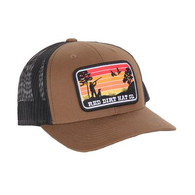 Red Dirt Hat Co.'s Flight Cancelled Brown Cap
