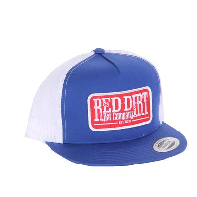 Red Dirt Hat Co.'s Tag Royal White Cap
