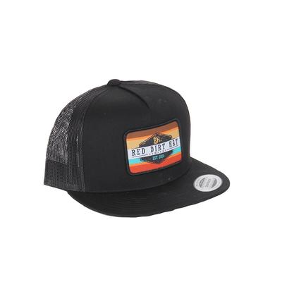 Red Dirt Hat Co.'s Black Army Sunset Cap