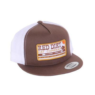 Red Dirt Hat Co.'s Brown Arrows Cap