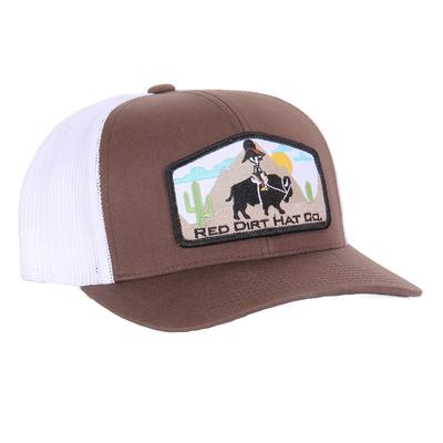 Red Dirt Hat Co.'s Jango Rides Again Brown Cap
