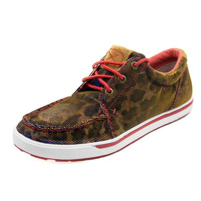 Twisted X Women's Shiny Leopard Shoes
