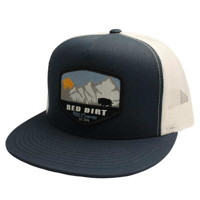 Red Dirt hat Co.'s Blue Mountain Buffalo Cap