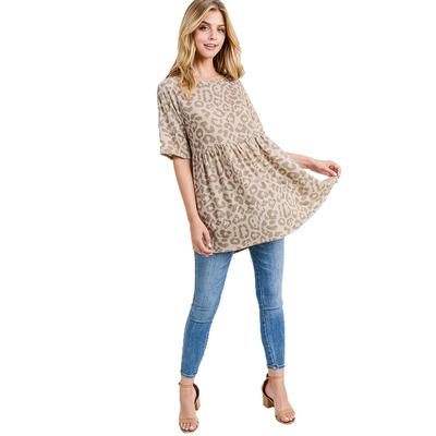 First Love Ladies Cashmere Round Neck Top
