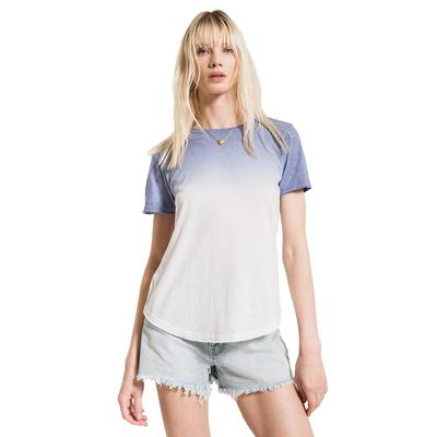 Z Supply Ombre Dip Dye Crew Tee