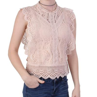 Black Tape Ladies Lace Top