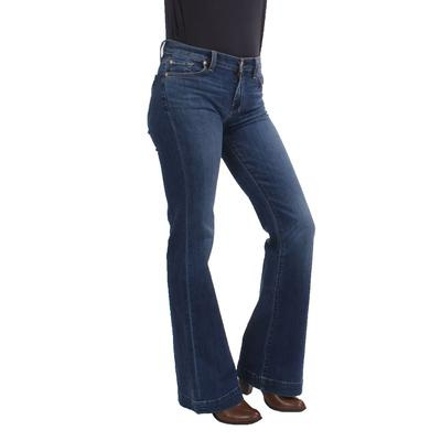 7 For All Mankind Ladies Dojo Medium Melrose Flare Jeans