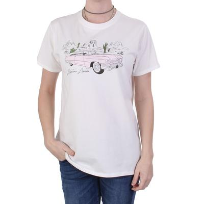 Ladies Adventure Awaits Cadillac Tee