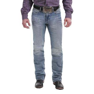 Cinch Mens Slim Fit Light Stone Wash Ian Jean