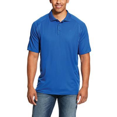 Ariat Men's Blue Ac Polo