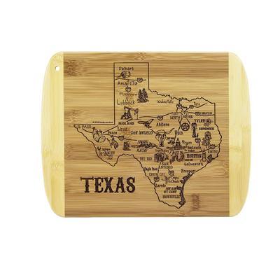 A Slice Of Life Texas cutting Board