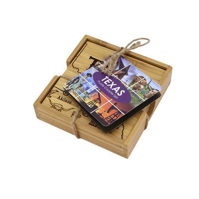 Texas Puzzle 4- Piece Coaster Set