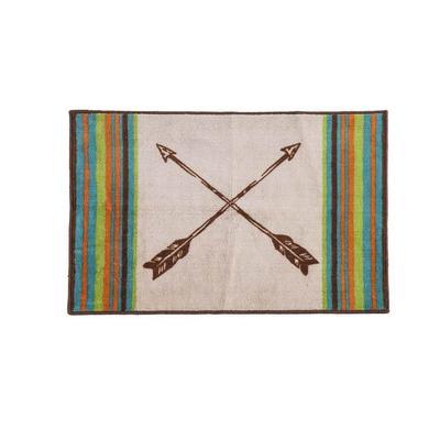 Cross Arrows Bath/Kitchen Rug