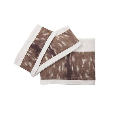 3-PC Deer Design Bath Towel Set