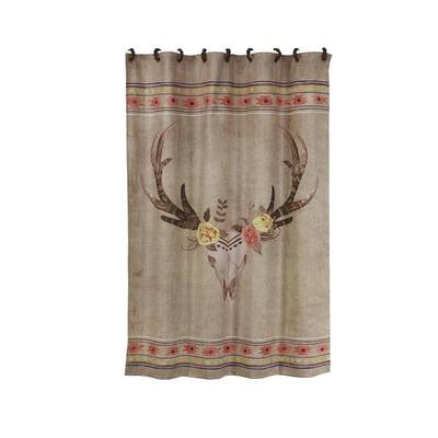 SouthWestern Desert Skull Shower Curtain
