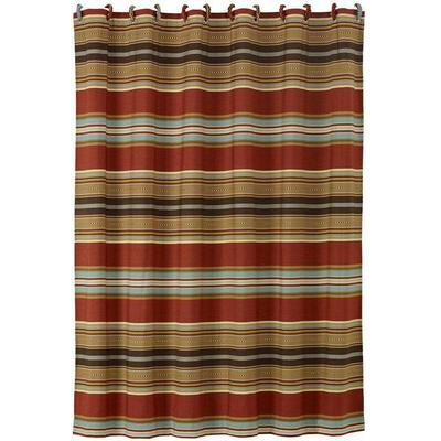 Calhoun Southwestern Striped Shower Curtain