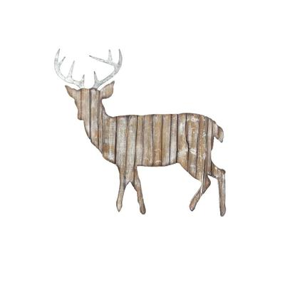 Rustic Deer Wall Hanging Cutout