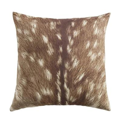 Huntsman Fawn Rustic Throw Pillow
