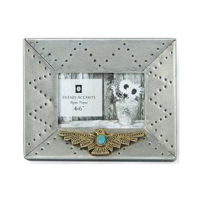 4 x 6 Silver Thunderbird Picture Frame