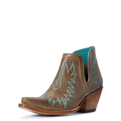 Ariat Women's Ash Brown Dixon Boots