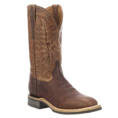 Lucchese Men's Chocolate Peanut Rudy Boots