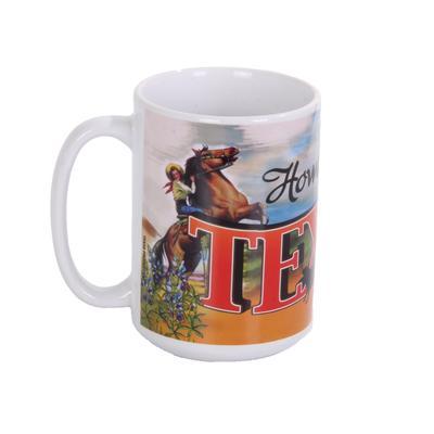 Howdy Texas Cowgirl Mug