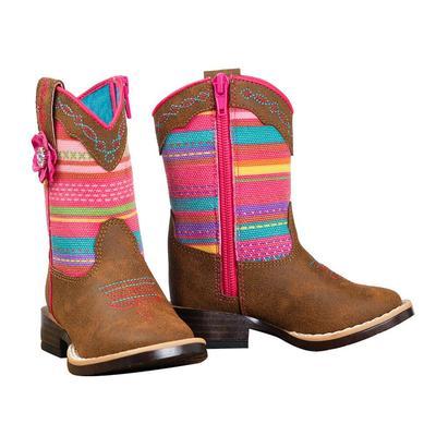 Blazin' Roxx Toddler's Camilla Serape Boots