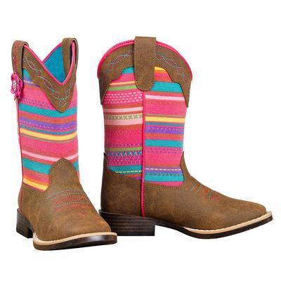 Blazin ' Roxx Girl's Camilla Serape Boots