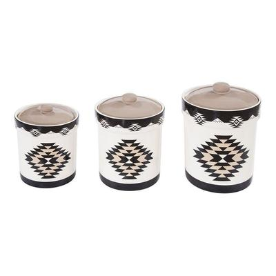 3-PC Chalet Canister Set