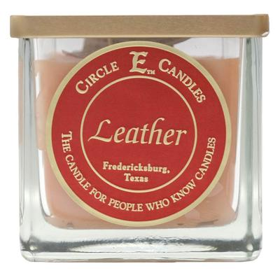 Circle E 25th Anniversary 22oz Candle LEATHER