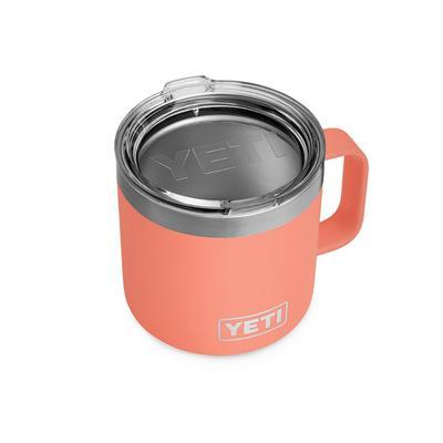 YETI Coral Rambler 14 oz Mug