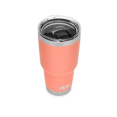 Yeti Coral 30 oz Tumbler With Magslider Lid