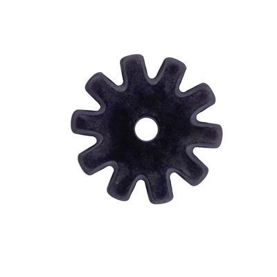 Black Satin 10 Point Rowel