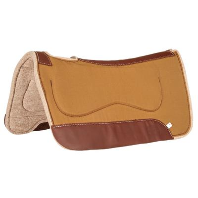 Contoured Canvas Pad With Saddle Bar Protection