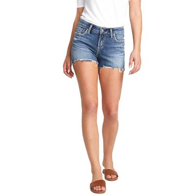 Silver Women's Elyse Mid Rise Short