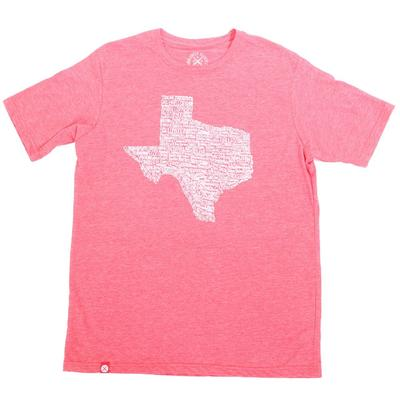 Tumbleweed Men's Red Texas Towns T-Shirt