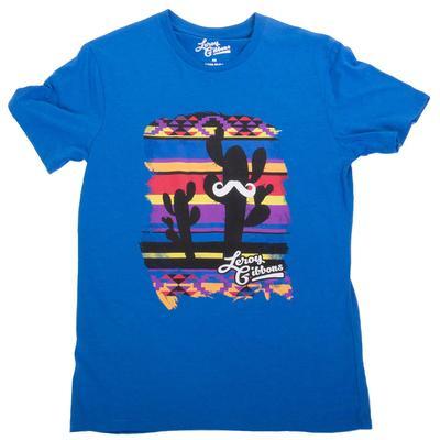 Rock&Roll Men's Aztec Mustache T-Shirt