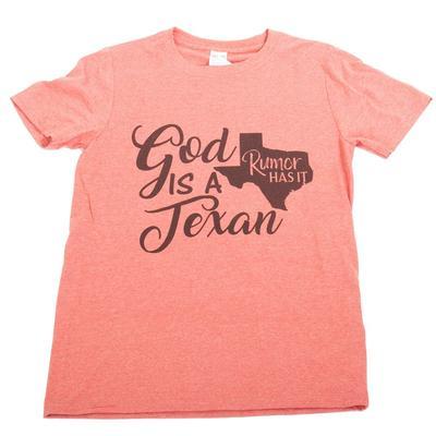 Men's God is a Texan T-Shirt