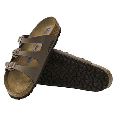 Birkenstock Mocha Florida Soft FootBed Sandals