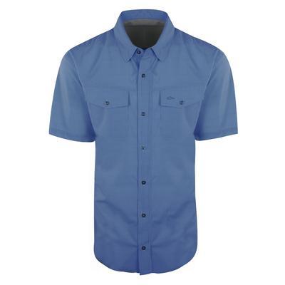 Drake Waterfowl Mens Travelers Check Button Shirt