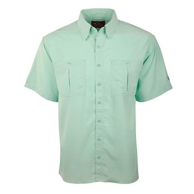 Drake Waterfowl Mens Flyweight Shirt With Vented Back