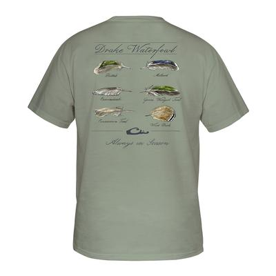 Drake Waterfowl Feather collection Tee